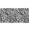 maori style seamless ornament vector image vector image