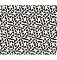 Seamless Black and White Geometric Star