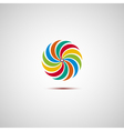 Colorful logo vector image