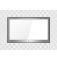 a blank lcd screen plasma displays or tv to your vector image vector image