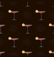 abstract cocktails with alcohol cocktails and vector image vector image