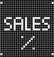 black friday dots vector image vector image