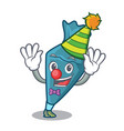 clown pastrybag mascot cartoon style vector image vector image