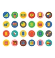 E-commerce Icons Set Shop money or vector image
