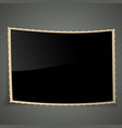 Empty Vintage Photo Frame Background vector image vector image