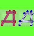 english alphabet letter aa