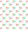festive colorful triangle confetti background for vector image