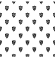 Medieval shield pattern simple style vector image