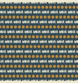 blue geometric seamless pattern texture vector image vector image