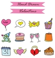 Element valentine art collection vector image vector image