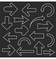 Line Arrows vector image vector image