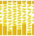 money pattern vector image vector image