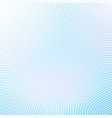 pale blue abstract half tone background vector image