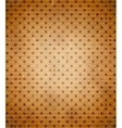 Scratched cardboard with polka dot pattern vector image vector image