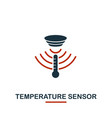 temperature sensor icon from sensors icons vector image vector image