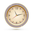 watch with diamonds on white background icon of vector image vector image