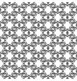 elegant rounded line decorative pattern vector image