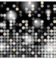 glowing dots vector image