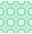 mint green geometric art deco pattern vector image