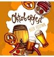 Oktoberfest Festival Poster vector image