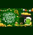 patricks day irish traditional holiday vector image vector image