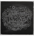 Turkey chalkboard background