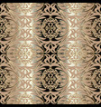 intricate vintage floral seamless pattern vector image vector image