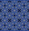 islamic geometric ornament vector image vector image