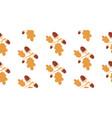 oak tree seamless pattern vector image