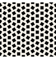 Seamless Black And White Jumble Squares vector image vector image