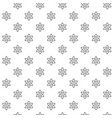 simple atom and molecule seamless pattern with vector image vector image