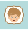 boy character design vector image