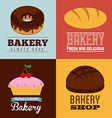 bakery design vector image