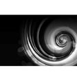 Black Spiral vector image vector image