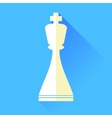 King Chess Icon vector image vector image