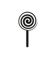 lollipop sign icon isolated vector image vector image