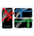 Phones as gifts vector image