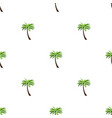 seamless pattern background with palm eps10 vector image vector image