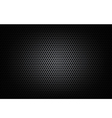 Dark chrome black and gear background texture vector image