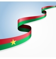 Burkina Faso flag background vector image vector image