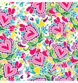 creative holidays seamless pattern for valentines vector image vector image