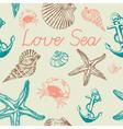 Decorative sea pattern