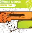 Grunge Summer Set vector image