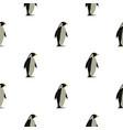 penguin pattern seamless vector image