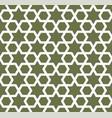 seamless arabic ornament with stars pattern
