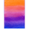 vertical watercolor rainbow gradient vector image vector image
