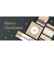 Christmas banner for the store vector image