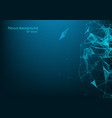 abstract 3d technology futuristic geometrical and vector image