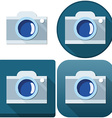 Camera Icon Pack vector image vector image