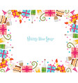 New Year Border vector image